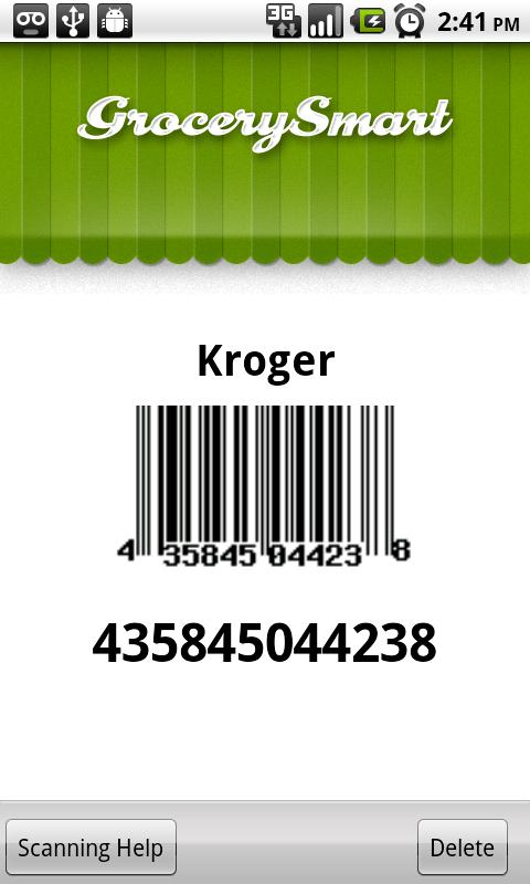 Grocery Smart - Shopping List - screenshot