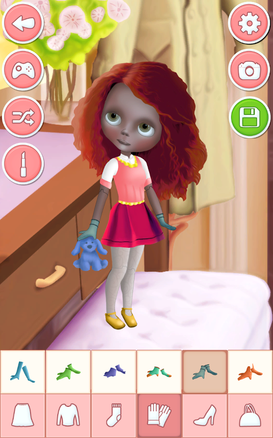 Doll style dress up games