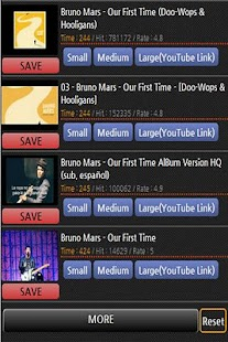 Bruno Mars album songs music - screenshot thumbnail