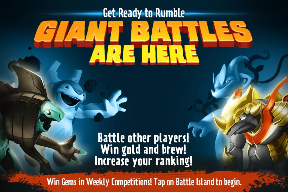 Giant Realms Battle Arena - screenshot