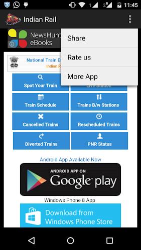 Indian Railway IRCTC & PNR on Google Play Reviews | Stats