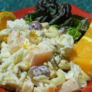 Chicken Orzo Salad.