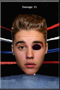 Justin Bieber Punch Out