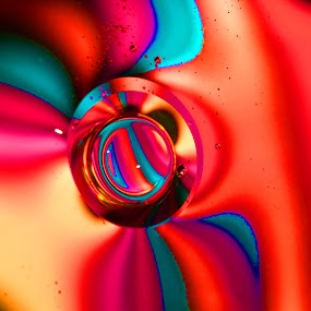 by Carole Pallier  - Abstract Patterns ( water, patterns, drops, colours, oil,  )