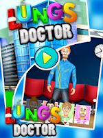Screenshot of Lungs Doctor - Kids Fun Game