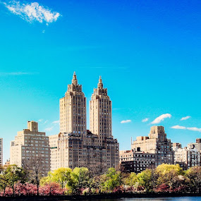 On a Island Within the Island by Cody Coker - Buildings & Architecture Public & Historical ( sky, blue, plants, bluesky, manhattan, ocean, nyc, flowers, Free, Freedom, Inspire, Inspiring, Inspirational, Emotion )