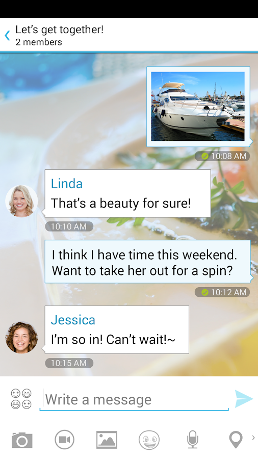 Messaging - SMS & Video Calls - screenshot