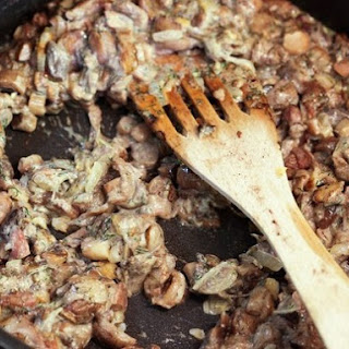 From A Polish Country House Kitchen's Twice-Cooked Wild Mushrooms.