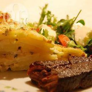 Aardappeltaart (Tarte au pomme du terre)