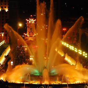 Fonta Magica by Sebastian Mezei - Buildings & Architecture Public & Historical ( fonta magica, barcelona, spain )
