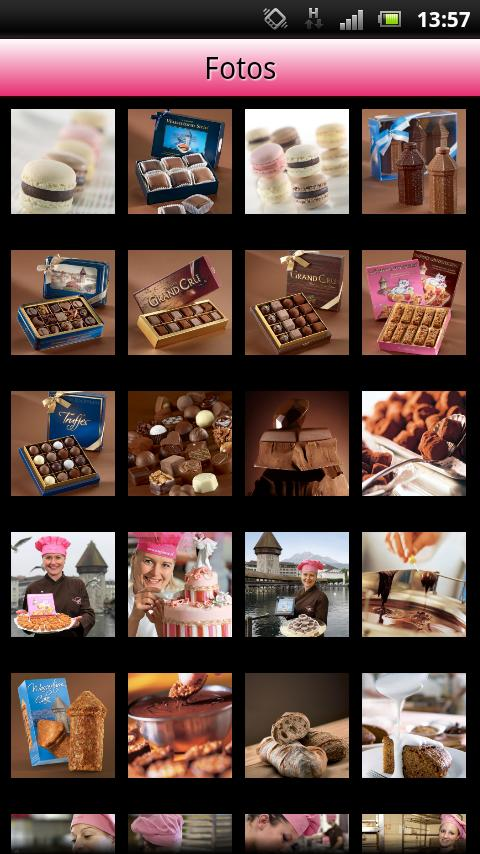 Confiserie Bachmann Chocolate - screenshot