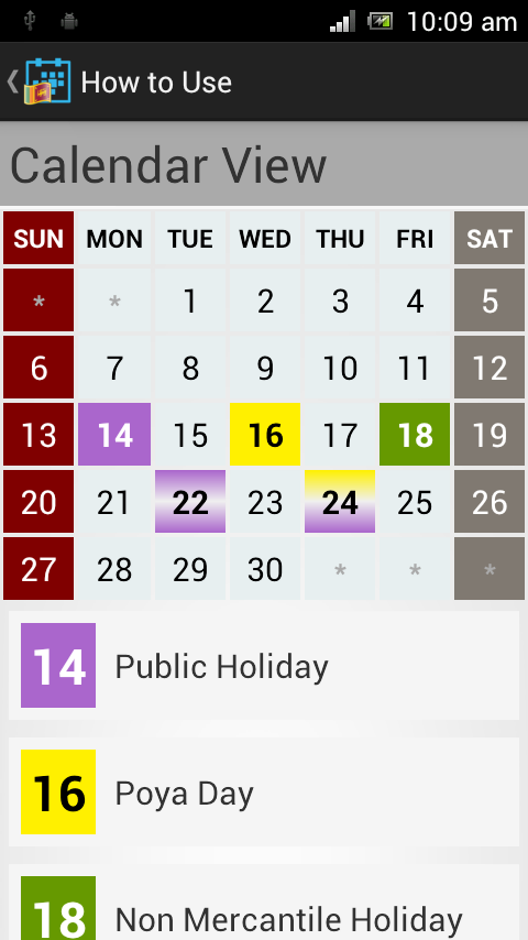 Desktop Calendar 2015 Sri Lanka Mercantile Holidays   New Calendar ...