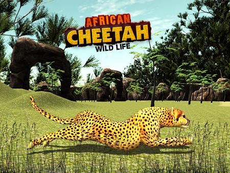 African Cheetah Survival Sim 1.1 screenshot 69710