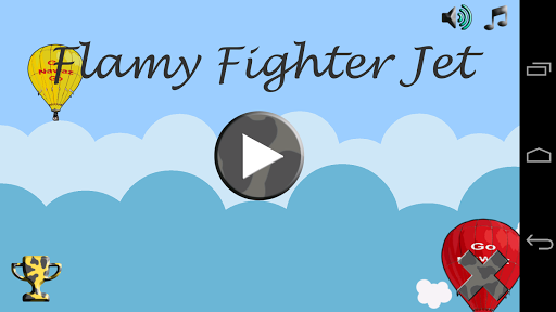 Flamy Fighter Jet