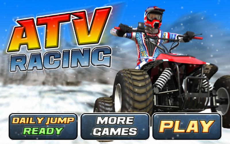 ATV Racing Game - screenshot
