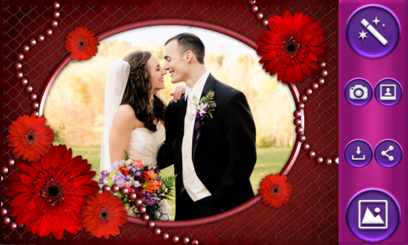 romantic frames for photos screenshot