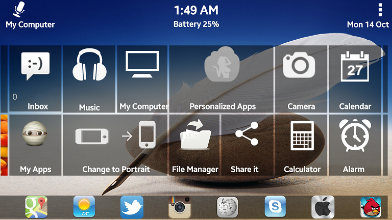 New Windows 8 Launcher Phone - screenshot