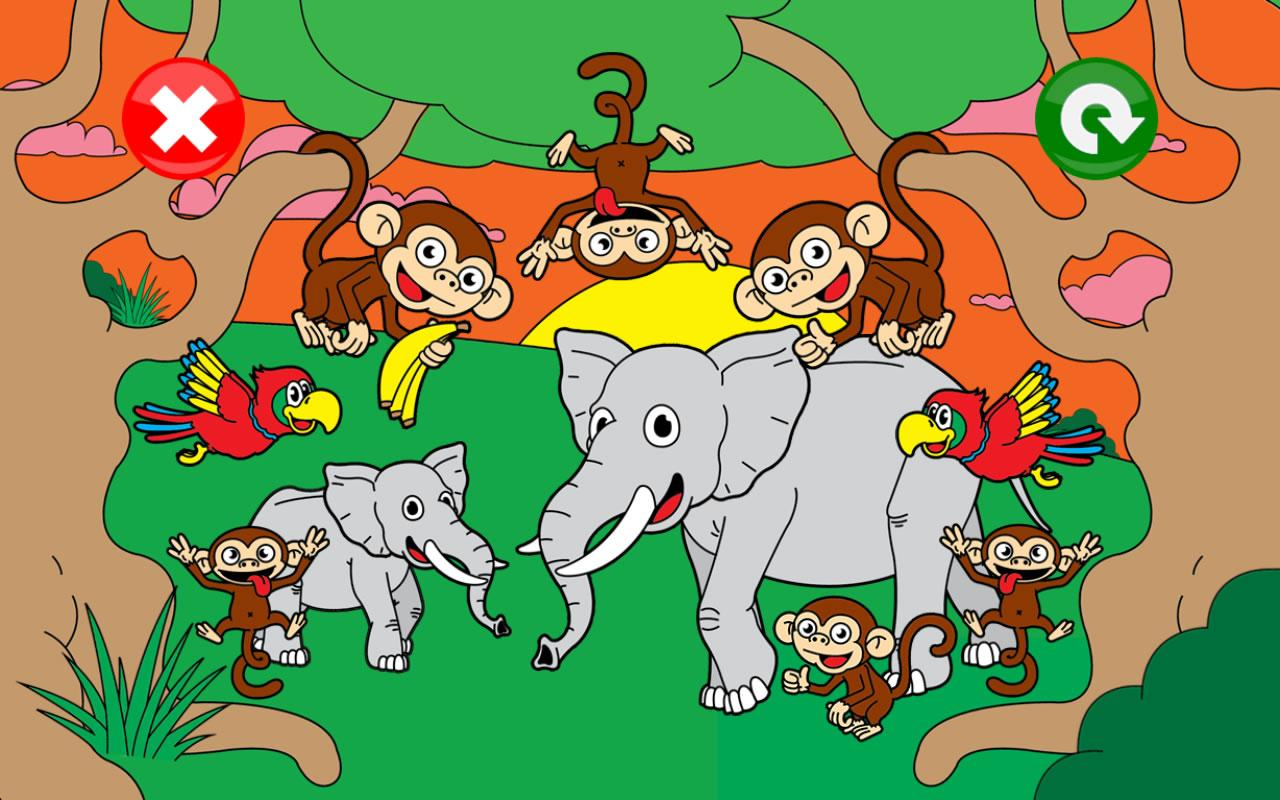 kids puzzle animal game for kids apps for toddlers android apps