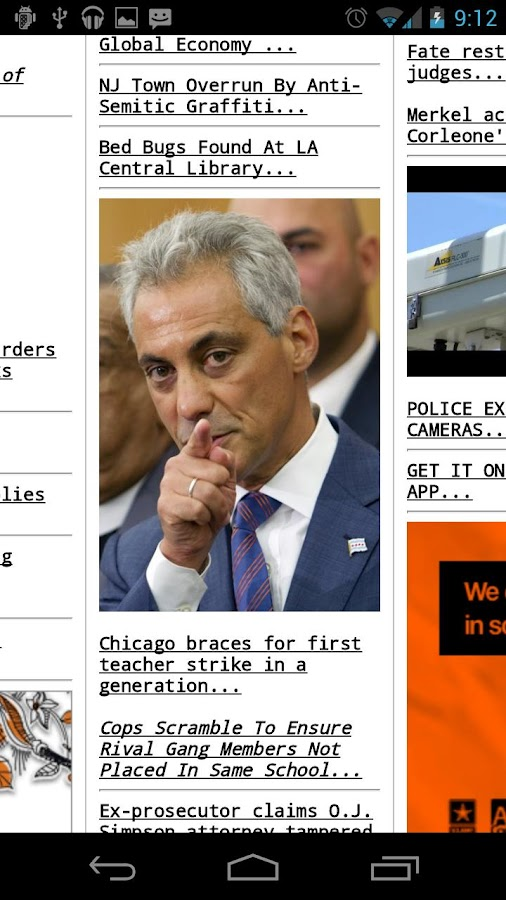 Drudge Report - screenshot