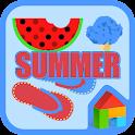 여름 도돌런처 테마 icon