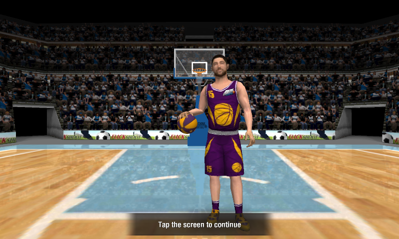 Real Basketball: captura de pantalla