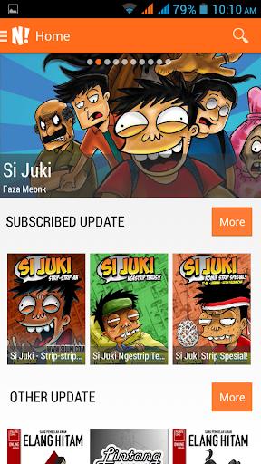 NGOMIK - Baca Komik Indonesia 1.2.5 screenshots 1
