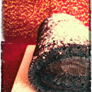 Nutella Cake Roll.