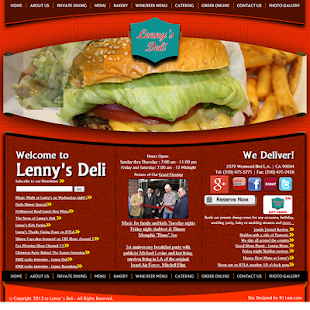 Welcome to Lenny's Deli- screenshot thumbnail