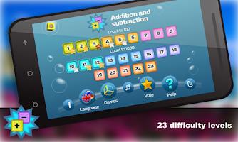 Screenshot of Mental Math for kids Free