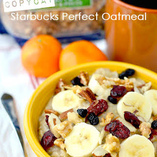 Copycat Starbucks Perfect Oatmeal.