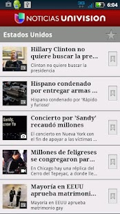 Noticias Univision - screenshot thumbnail