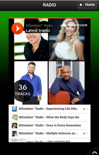 MSstation™ Radio / TV App II- screenshot