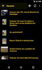 Hawkeye Football Schedule Screenshot 3