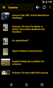 Hawkeye Football Schedule Screenshot 3