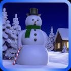 Snowy Live Wallpaper HD icon