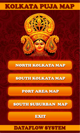 Kolkata Puja Guide and Map