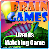 Lizards Matching Game