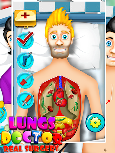 Lungs Doctor Real Surgery Game- screenshot thumbnail