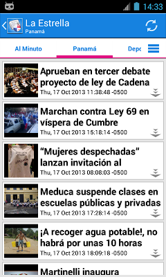 Panamá Noticias - screenshot