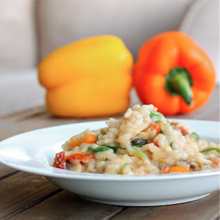 Risotto With Lemon And Sun Dried Tomatoes.
