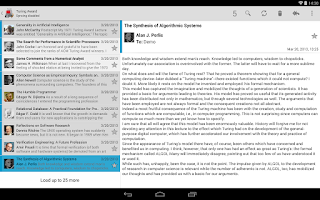 Screenshot of K-9 Mail