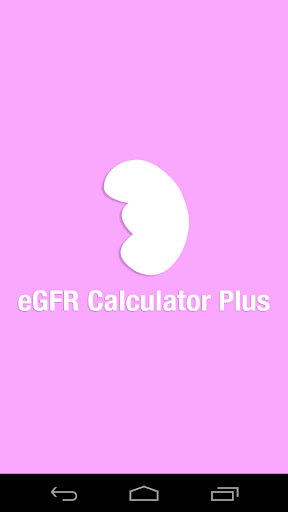 eGFR calculator for Nurse