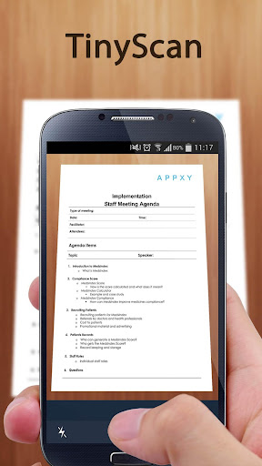 Tiny Scan:PDF Document Scanner