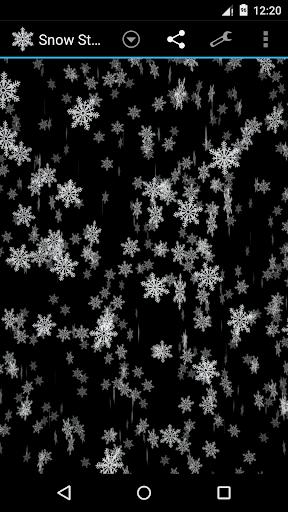 暴风雪3D壁纸