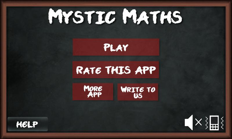 Brainy Mystic Maths Block Game - screenshot