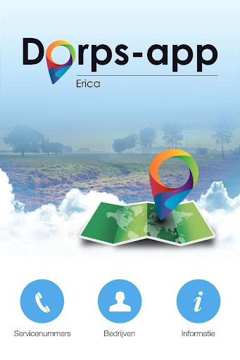 Dorps-app Erica