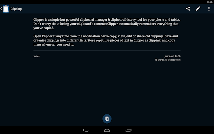 Clipper - Clipboard Manager Screenshot 4