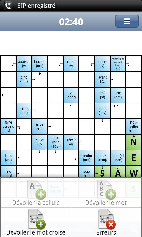 Learn English with Crosswords- screenshot
