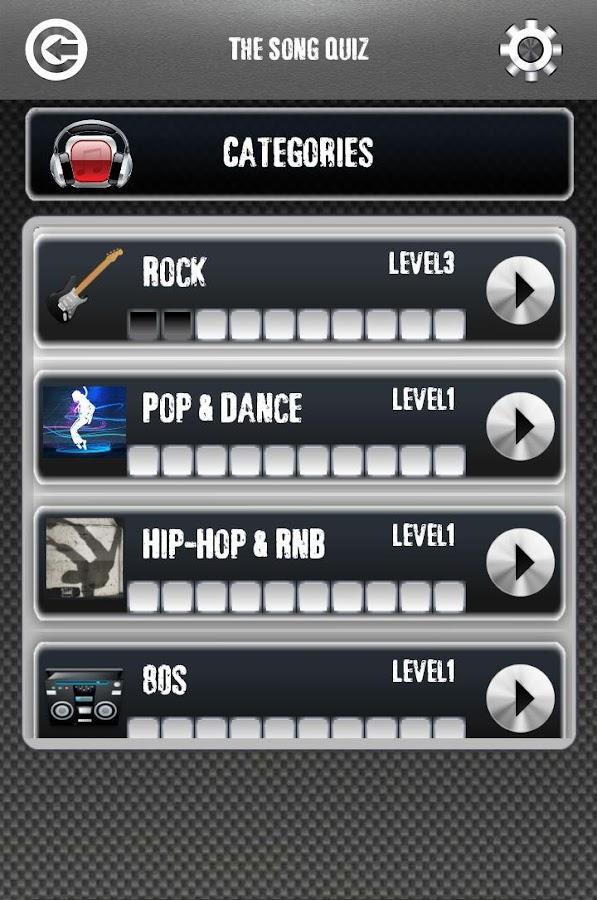 THE SONG QUIZ - screenshot