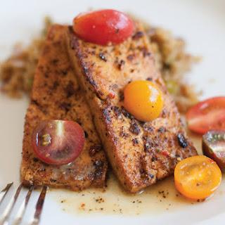 Cajun Tofu With Dirty Quinoa [Vegan].